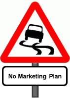marketing plan road sign